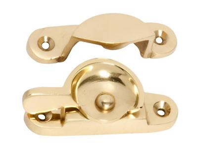 polished brass double hung sash window,fitch fastener,TH1600