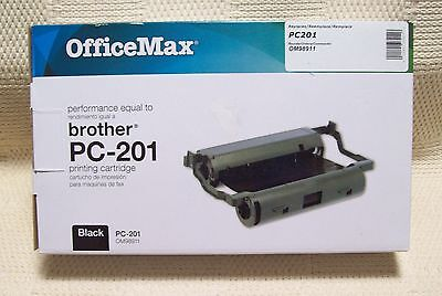 Office Max Ink for Brother Fax PC-210 Ink Cartridge Black