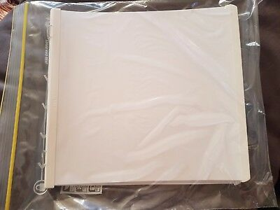 Creative Memories White Pages 7x7 12 refill pages