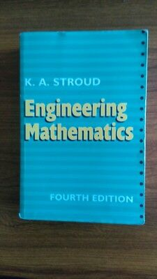 K A Stroud Engineering Mathematics ED4 FULLY WORKED SOLUTIONS on CD.