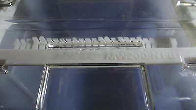 Komatsu Wafer, 200mm Transport Carrier Silicon Box with Cassette MW200N MW200-N-