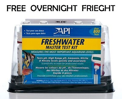 API Aquarium Master Test Kit Freshwater Fish - pH, Nitrite, Nitrate & Ammonia