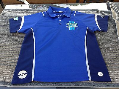 FORD ORRCON STEEL XL Motor Racing Polo Shirt Top V8 Supercars FPR F1 automobile