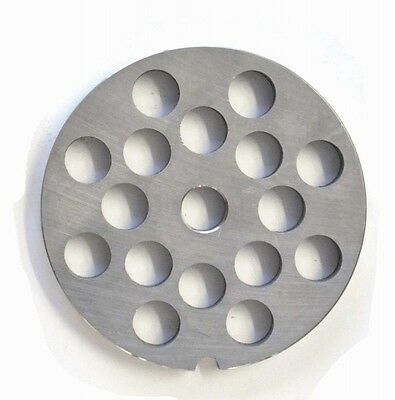 Weston #22 12mm Grinder Plate (Stainless Steel)