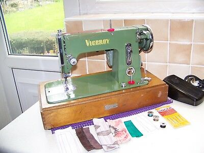 Rock Solid Universal Viceroy S/stitch Semi Industrial Sewing Machine,serviced