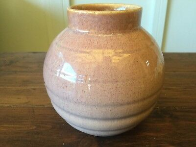 Vintage English Pottery Candy Ware Vase