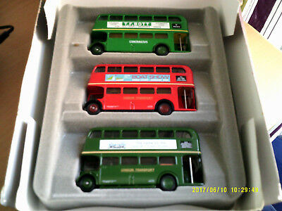 EFE Complete set of  The RTL Story of   Buses 1:76 to scale certificate no 04490
