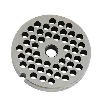 Weston #22 8mm Grinder Plate (Stainless Steel)