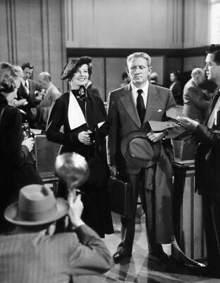 Adam's Rib UNSIGNED photo - K1990 - Spencer Tracy and Katharine Hepburn