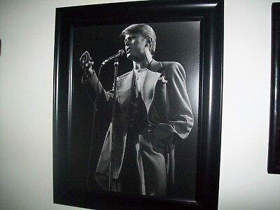 "DAVID BOWIE - QUALITY 11""x 14"" B&W PHOTOGRAPH PRINT FROM THE 1978 ""STAGE"" TOUR"