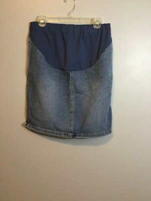 Old Navy Maternity Size Small Stretch Jean Skirt