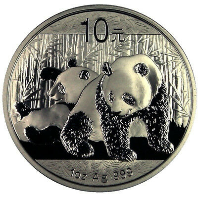 2010 Chinese Panda 1 oz. Silver Coin – MINT CONDITION
