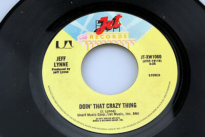 Jeff Lynne: Doin' That Crazy Thing / Goin' Down to Rio  [Unplayed Copy]