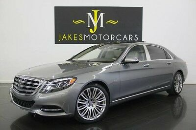 2016 Mercedes-Benz S-Class Maybach S600 2016 MERCEDES MAYBACH S600, ONLY 8300 MILES! EXECUTIVE SEATING! DESIGNO WOOD!
