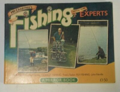 """Rare British """"mr. Crabtrees Fishing With The Experts"""" Information Paperback Book"""