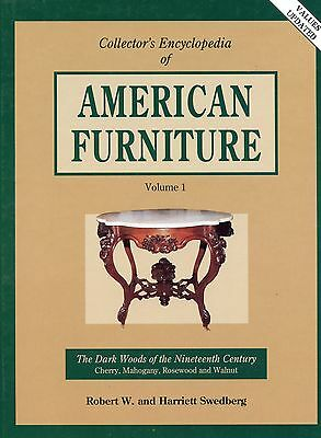 American Victorian Dark Wood Furniture - Tables Desks Chairs / Book + Values