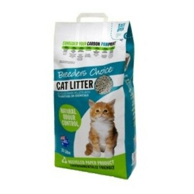 Breeders Choice Cat Litter 30 litres Cat Cats Pet Pets
