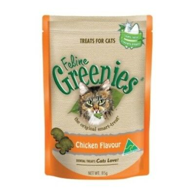 Greenies Dental Treats Chicken for Cat Cats Pet Pets