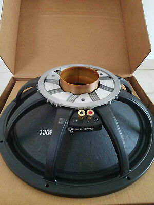 "Details about  Peavey Low Rider Black Widow 18"" 8 Ohm Subwoofer Drive"