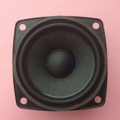 2pcs 57mm 8Ohm 8Ω 10W Full range Audio Speaker Square Loudspeaker Neodymium GL