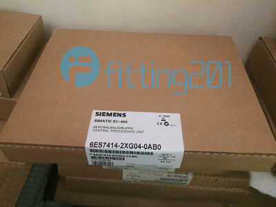Siemens New 6ES7414-2XG04-0AB0 (6ES7 414-2XG04-0AB0) PROCESSING UNIT