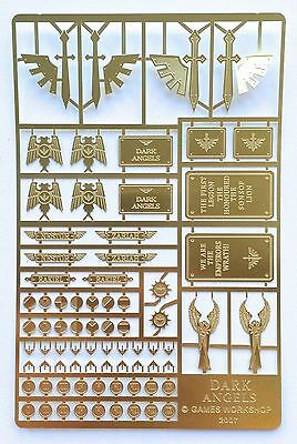 Forgeworld Dark Angels etched brass Horus Heresy space marines 40k