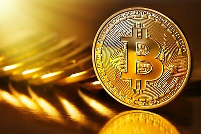 0.01 Bitcoin Cryptocurrency
