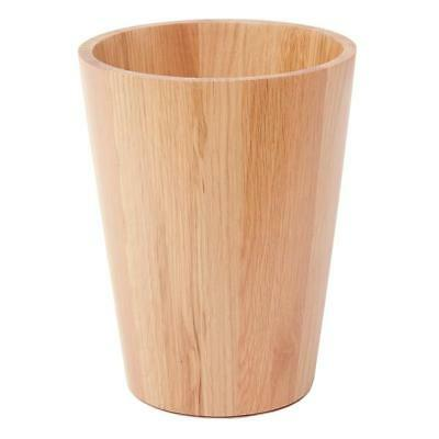 NATURAL OAK BIN Handmade Laminated Modern Home Bathroom Bedroom Office Non-Slip