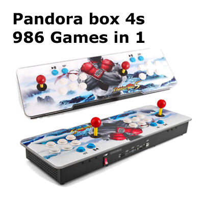 986 in 1 Games Pandora 5S box Video Double Stick Arcade Console Multiplayer