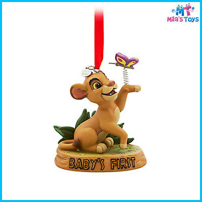 "Disney The Lion King Simba ""Baby's First"" Sketchbook Christmas Ornament"