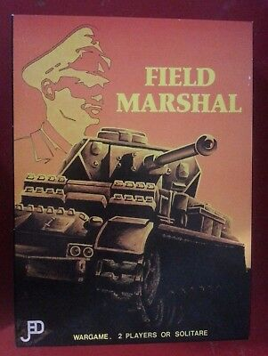 Field Marshal Jedko Boardgame unpunched