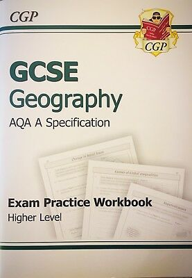 CGP GCSE Geography AQA A Exam Practise Workbook Higher Level