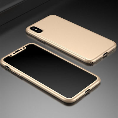 Luxury Ultra Thin Slim Acrylic Hard Back Case Cover For iPhone 5 6 7/7 Plus 8 X