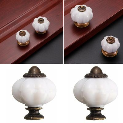 Vintage Ceramic Drawer Knob Pull Handles Drawer Door Cupboard Cabinet Knobs M6D6