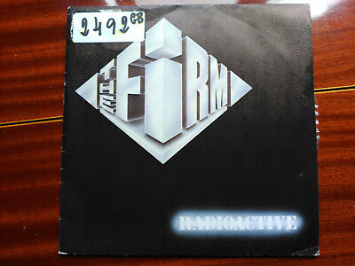 Single The Firm - Radioactive / Together - Ariola Spain 1985 Vg+