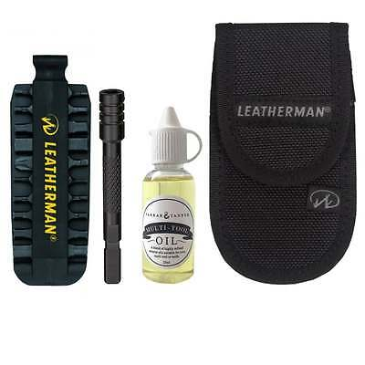 Leatherman Deluxe Set Bit Kit, Extender, Multi-Tool Oil, Pouch for Charge, Wave