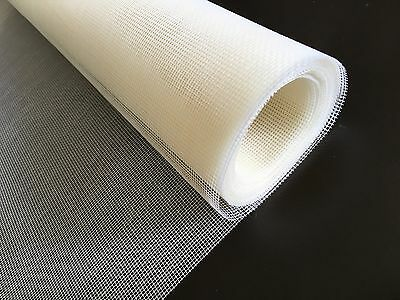 White Quality Fibreglass Screen Mesh 0.8m Net Insect Fly Bug Mosquito Spider