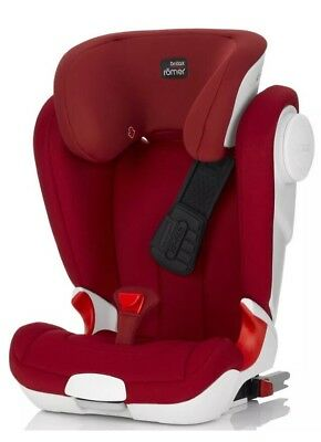 Britax Romer Kidfix XP Sict Group Child IsoFix Car Seat For Age 4-12 15-36kg Red