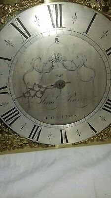 Longcase Birdcage,Posted Movement Samuel Pearce.