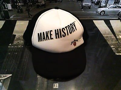 Jim Beam Make History Basecap Halloween Cappy Mütze Hut Party ** NEU **
