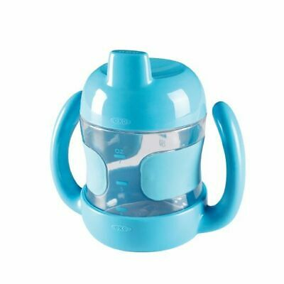NEW OXO Tot - Sippy Cup with Removable Handles 7oz/200ml - Aqua