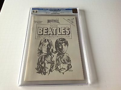 The Beatles Experience 4 Cgc 9.8 Silver Foil Cover Highest Graded John Lennon