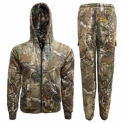 648fa79390a7c Children's Forest Camouflage Tracksuit Hoodie Jogger Realtree Camo Set 2-14  Yrs