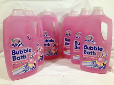 Baby Magic Bubble Bath Bubblegum Pop Tear Free Hypoallergenic 33 Ounce 6 Pack