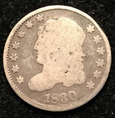 1830 H10C Capped Bust Half Dime- G#