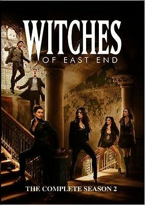 Witches Of East End: Complete Season 2, NEW, (DVD, 2015, 3-Disc Set), Fast Ship