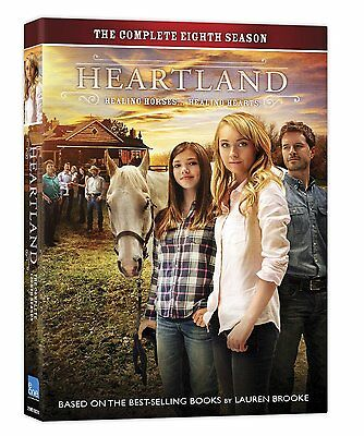 HEARTLAND: THE COMPLETE EIGHTH SEASON 8  (DVD, 2015, 5- Disc Set) NEW, US Seller