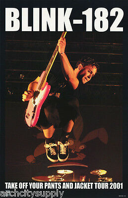 Lot Of 3 Posters : Music : Blink-182 - Tour 2001 -  Free Ship  #6554   Lc6 G