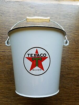 Metal, Texaco Memorabilia, Bucket