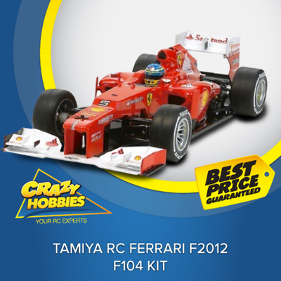 Tamiya RC Ferrari F2012 - F104 Kit